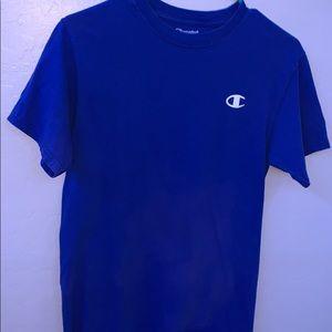 Blue champion logo tee